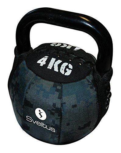 Sveltus Soft Kettlebell 4kg Krafttraining Bootcamp Gewichte Neopren Hantel