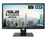 ASUS BE249QLB 24' (23.8') Monitor, FHD, 1920 x 1080, IPS, DP, DVI-D, D-Sub, Mini-PC Mount Kit, Flicker Free, Filtro Luce Blu, Certificazione TUV
