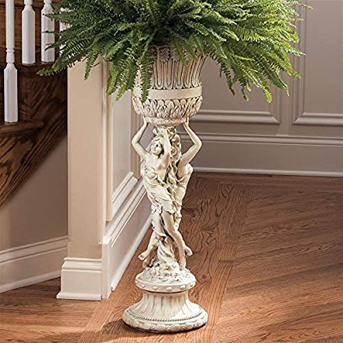 planter urn with stand - 1
