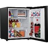 Galanz 2.7 cu ft Reversible Single Door Refrigerator, Black