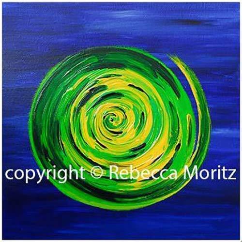 Wandbilder, Kunstbild, abstrakte Malerei, Acryl auf Leinwand