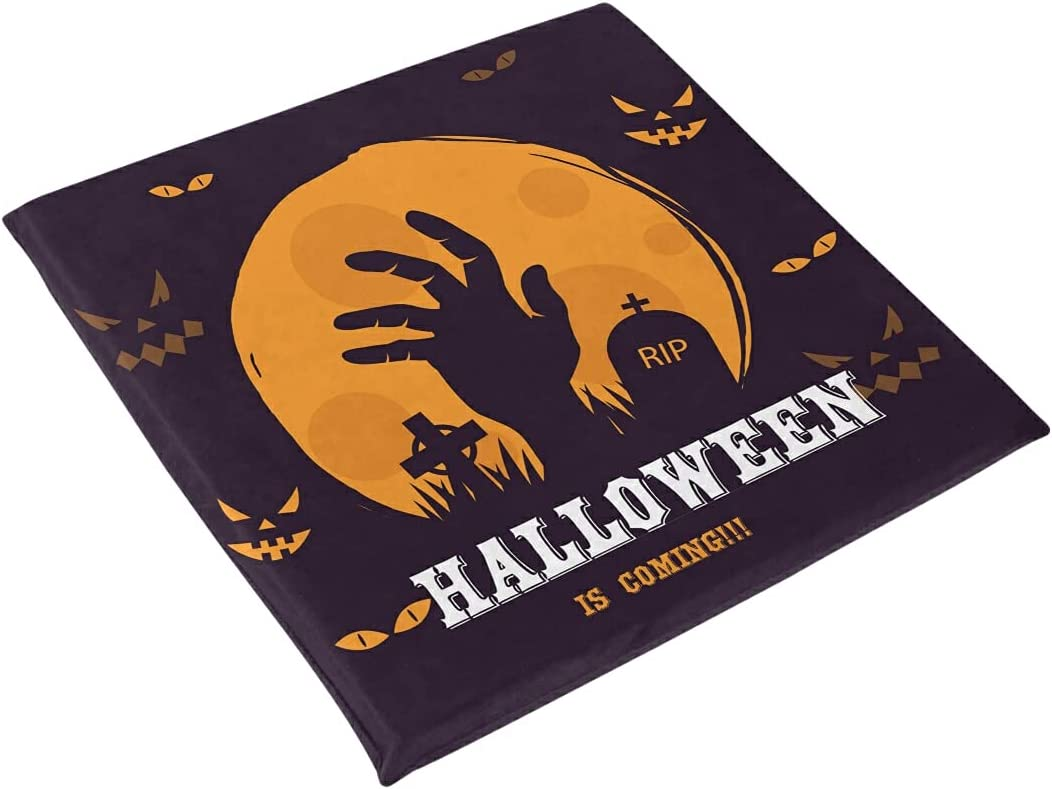 Halloween famous Hand Grave Terrible Seat Chair Pad Cushion Popular shop is the lowest price challenge Foam Memory