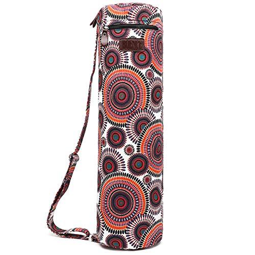 Boence Yoga Mat Bag, Full Zip Exercise Yoga Mat Sling Bag with Sturdy...