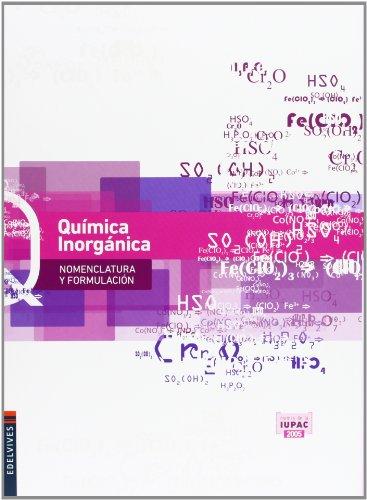 Química Inorgánica (Nomenclatura y Formulación) - 9788426389084