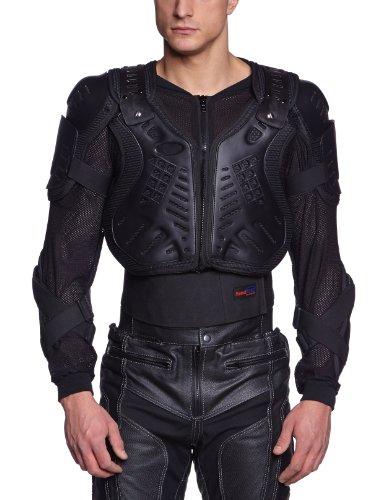 Protectwear WPJ-301-M Protektorenjacke Protektorenhemd, Größe : M, Schwarz