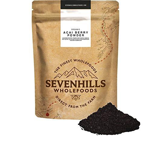 Sevenhills Wholefoods Baya De Açaí En Polvo Orgánico (Liofilizadas) 100g