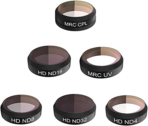 Homyl UV ND4 ND8 ND16 ND32 CPL Filter Lens Clear for DJI Mavic Air