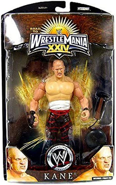 WWE Wrestlemania 24 Exclusive Series 1 Action Figure Kane by Jakks