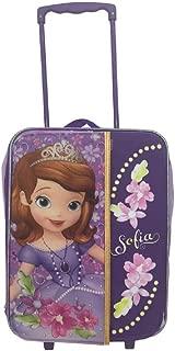 Disney 16 Inch Kids Rolling Pilot Case Organizer, Sophia