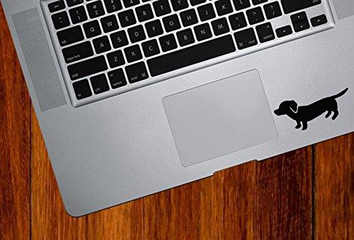 Dachshund - Weiner Dog - Trackpad/Keyboard - Vinyl Decal Copyright (3