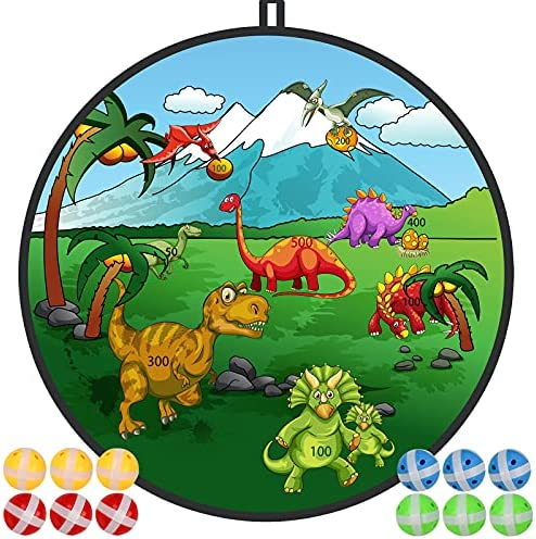 "29"" Dinosaur Board Games for Kids, Large Dart..."