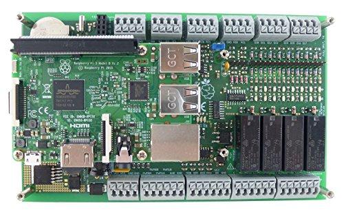 Qube Solutions PiXtend V2 -S- ePLC Basic - Komplettgerät - SPS/PLC/Control - mit Raspberry Pi & 16 GB SD-Karte