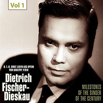 Milestones of the Singer of the Century - Dietrich Fischer-Dieskau, Vol. 1