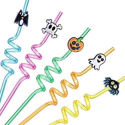 Halloween Party Drinking Straws