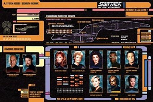 Star Trek Next Generation Cast Poster (24 x 36)