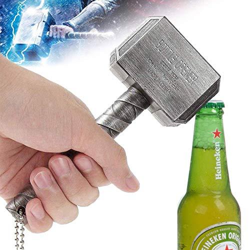 BAYINBROOK Thor Hammer Flaschenöffner Bieröffner Bierflaschenöffner Hammer Thor Shaped Flaschenöffner Perfekt für Bar und Hausgebrauch Geschenk für Wunderliebhaber und Bierliebhaber (11)