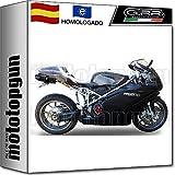Road Passion Motocicleta Pastillas de freno trasero para DUCATI STREET BIKES 999 S//R//Monoposto//Biposto 2003-2006