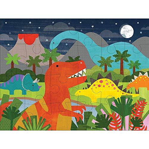 Petit Collage 〔パズルが好きになる優しいデザイン〕お子様用 恐竜王国 ジグソーパズル 1歳半から推奨 (24ピース)