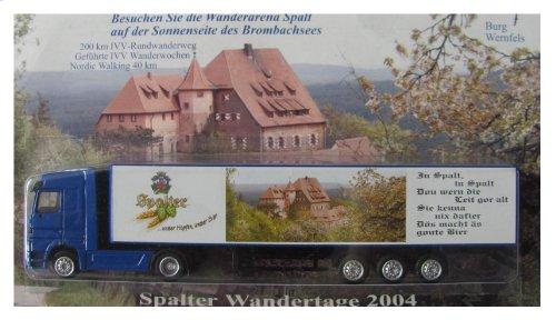 Spalt Brauerei Nr.07 - Wandertage 2004, Brombachsee - MB Actros - Sattelzug