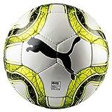 Puma Final 4 Club (IMS APPR) Size 4 Ballon De Foot Puma White-Lemon Tonic-Puma Black 4