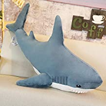 EXTOY Giant Plush Russia Shark Plush Toy Cute Soft Toys Stuffed Animal Shark Doll Girl Pillow Sofa Cushion Home Decor Kids Plush Doll Thing You Must Have 4 Year Old Gifts The Favourite Comic