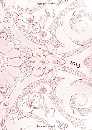 Kalender 2019 - Bronze Ornament - DIN A5 - Wochenkalender