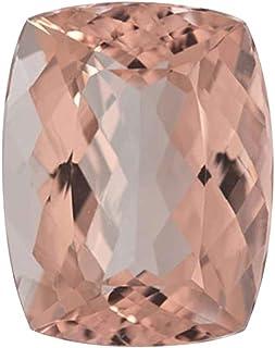 Mysticdrop 3.33-4.07 Cts of 11x9 mm AAA Cushion Morganite (1 pc) Loose Gemstone