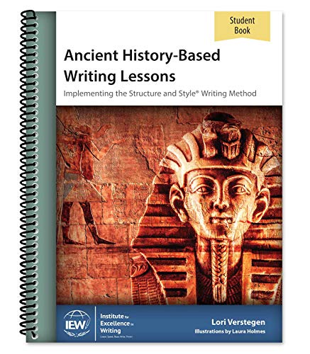 Ancient History-Based Writing Lessons [Student Book]