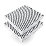 Amazon Basics - Filtro de aire para vehículos, 21,5 x 19,4 x 2,9 cm, 2 unidades