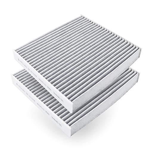 "AmazonBasics Cabin Air Filter - 8.46"" x 7.64"" x 1.14"", 2-Pack"