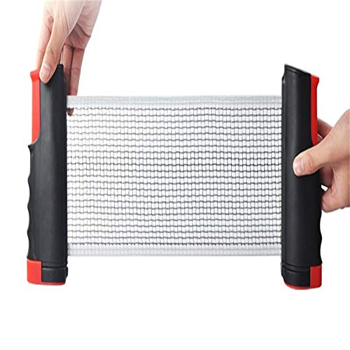 Cheap ddmlj Portable Thickening Table Tennis Table Net Rack Free Telescopic with Net Soldier Table T...