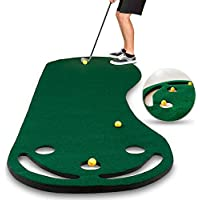 Abco Tech Golf Putting Green Grassroots Mat - 9ft x 3ft - Outdoor and Indoor Use