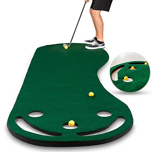 Abco Tech Golf Putting Green Grassroots Mat, best indoor putting green, best putting mat