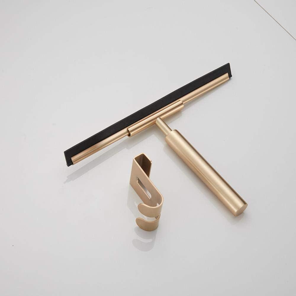 Essuie-glace de miroir de douche en acier inoxydable fen/être SUS304////pour plancher de cuisine de douche,////outil en/silicone/ noir