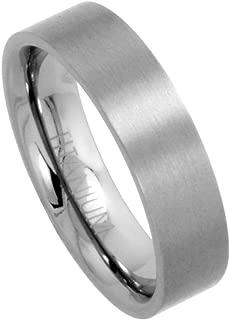 flat titanium band
