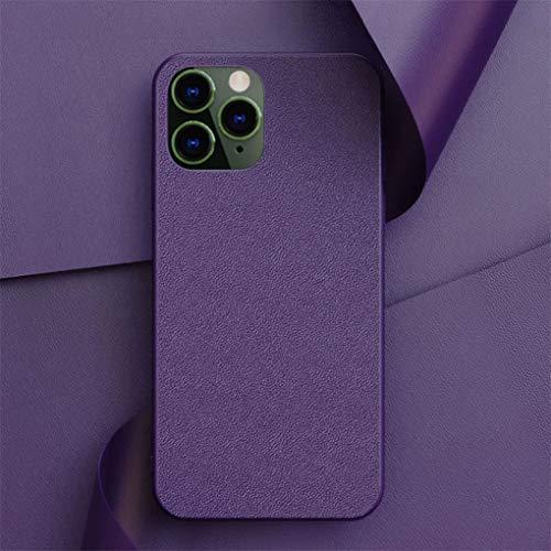 Hadwii Fodral iPhone 8 Plus,iPhone 7 Plus mobiltelefonfodral [kantlös design] [trådlös laddning] ultratunn mjuk matta skyddande fodral stötsäker reptålig stötfångare fodral för iPhone 8 7 Plus – lila