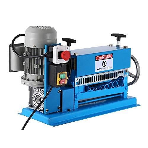 FlowerW Φ1,5mm-Φ38mm Elektrische Abisoliermaschine für Kabel Elektrische Abisoliermaschine 220V mit 11 Multilöchern(038B)