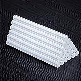 WNJ-Tools Adhesivo de fusión en Caliente de 11 mm Transparente de 7 mm Barra de Pegamento de Silicona de Alta viscosidad Reforzar la pegajosidad (Color : 11x150MM, tamaño : 40 Pieces)