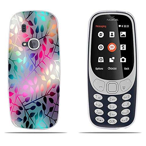 DIKAS Handyhülle für Nokia 3310 (2017), TPU Softcase Silikon Back Cover Tasche Schutzhülle Anti-Scratch Telefon-Kasten Handyhülle Handycover Bumper Fall Euit für Nokia 3310 (2017) - Pic: 05