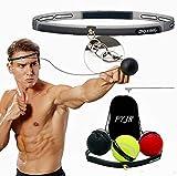 Box Ball, Reflex Fightball, Punch Boxing Ball mit Kopfband,Reflex Speed Training Boxen- Praktische Ausbildung im Studio oder im Freien -3balls