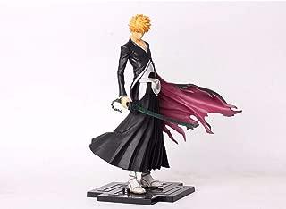 Anime Bleach Kurosaki Ichigo Death PVC Action Figure Model Collection Toys Gift 22cm