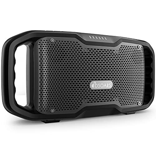 DBSOARS Portable Bluetooth Speakers with EX-BASS,Multi-Speaker Pairing,50W Louder Waterproof Outdoor Wireless Bluetooth Speaker with Subwoofer,Powerbank,30H Playtime Speakers Suit for Outdoor,Party