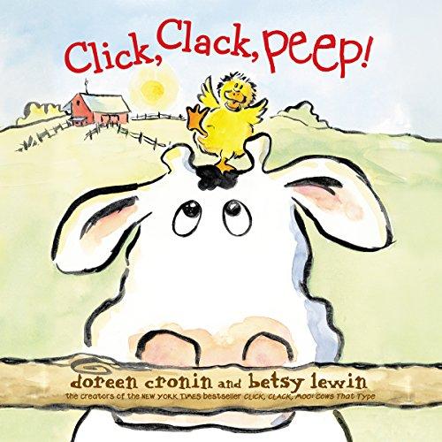 Click, Clack, Peep! audiobook cover art