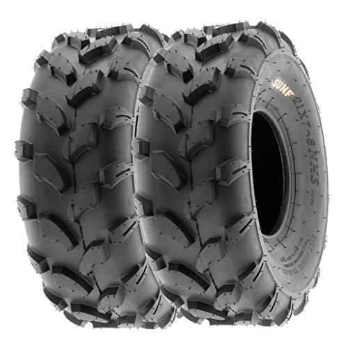 SunF 18x7-8 18x7x8 ATV UTV Tires 6 PR Tubeless A003 [Set of 2]
