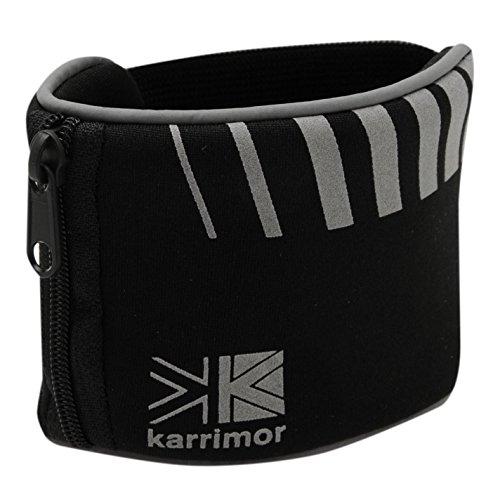 Karrimor Unisex Wrist Wallet 00 Black One Size by Karrimor