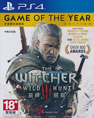 THE WITCHER 3: WILD HUNT (GAME OF THE YEAR EDITION) (CHINESE & ENGLISH SUBS) - PlayStation 4