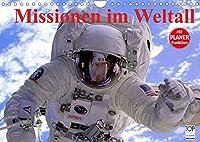 Missionen im Weltall (Wandkalender 2022 DIN A4 quer): Spannende Bilder aus der Raumfahrt (Geburtstagskalender, 14 Seiten )