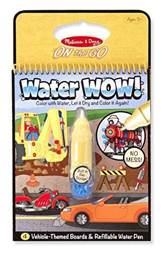 Melissa & Doug 17989 Assortiment de l'eau Wow Livre de coloriage