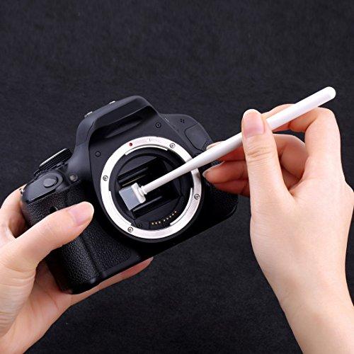 Swiftswan Kamera CCD CMOS Sensor Staub Reinigung Jelly Cleaner Kit für Canon