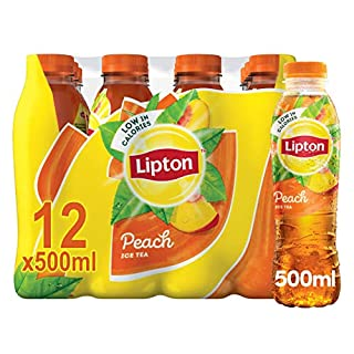 Lipton Ice Tea Peach Flavoured Still Soft Drink, 12 x 500 ml (B0077PPVXW) | Amazon price tracker / tracking, Amazon price history charts, Amazon price watches, Amazon price drop alerts